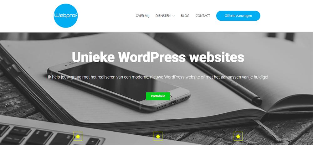 Webprof Website Design