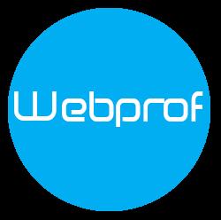 Webprof logo