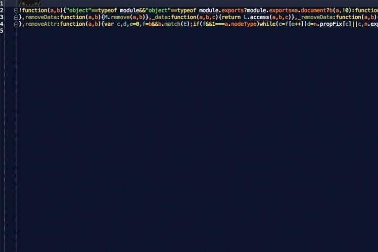 jQuery-bestand Klein webprof