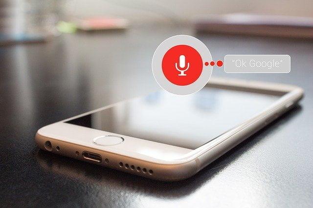 Voice-control-Google-webprof